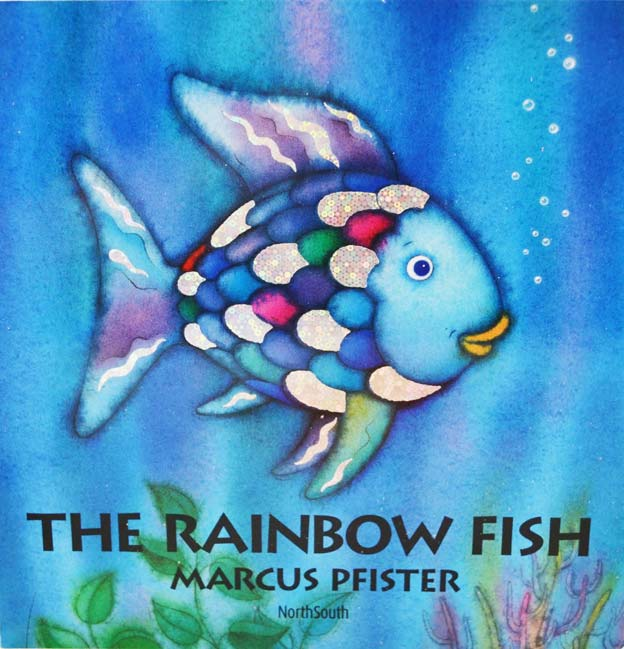 The rainbow fish was always a favourite, beautiful colours, and about as close as you could get to really becoming a fish. With a pretty strong message tied in too.