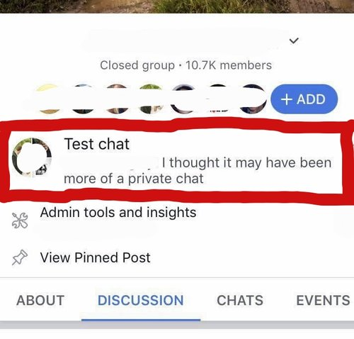 local chat groups