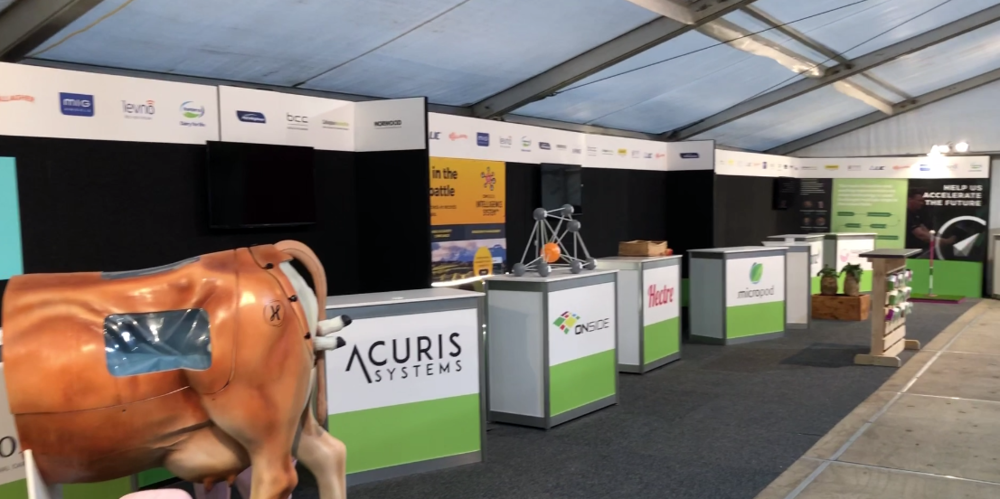 SPROUT Agritech - You can find their site in the Innovation Centre. Look for the exciting 18x3 long space and our fearless leader herself! Find them: Innovation Centre