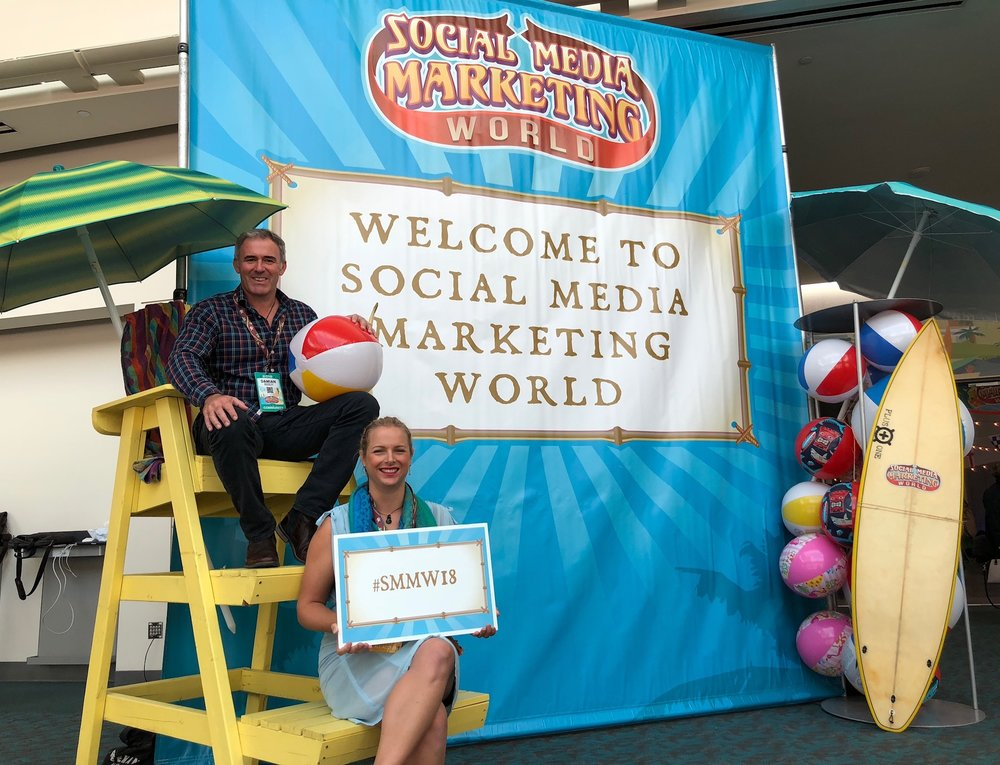 Experiential Marketing example at Social Media Marketing World