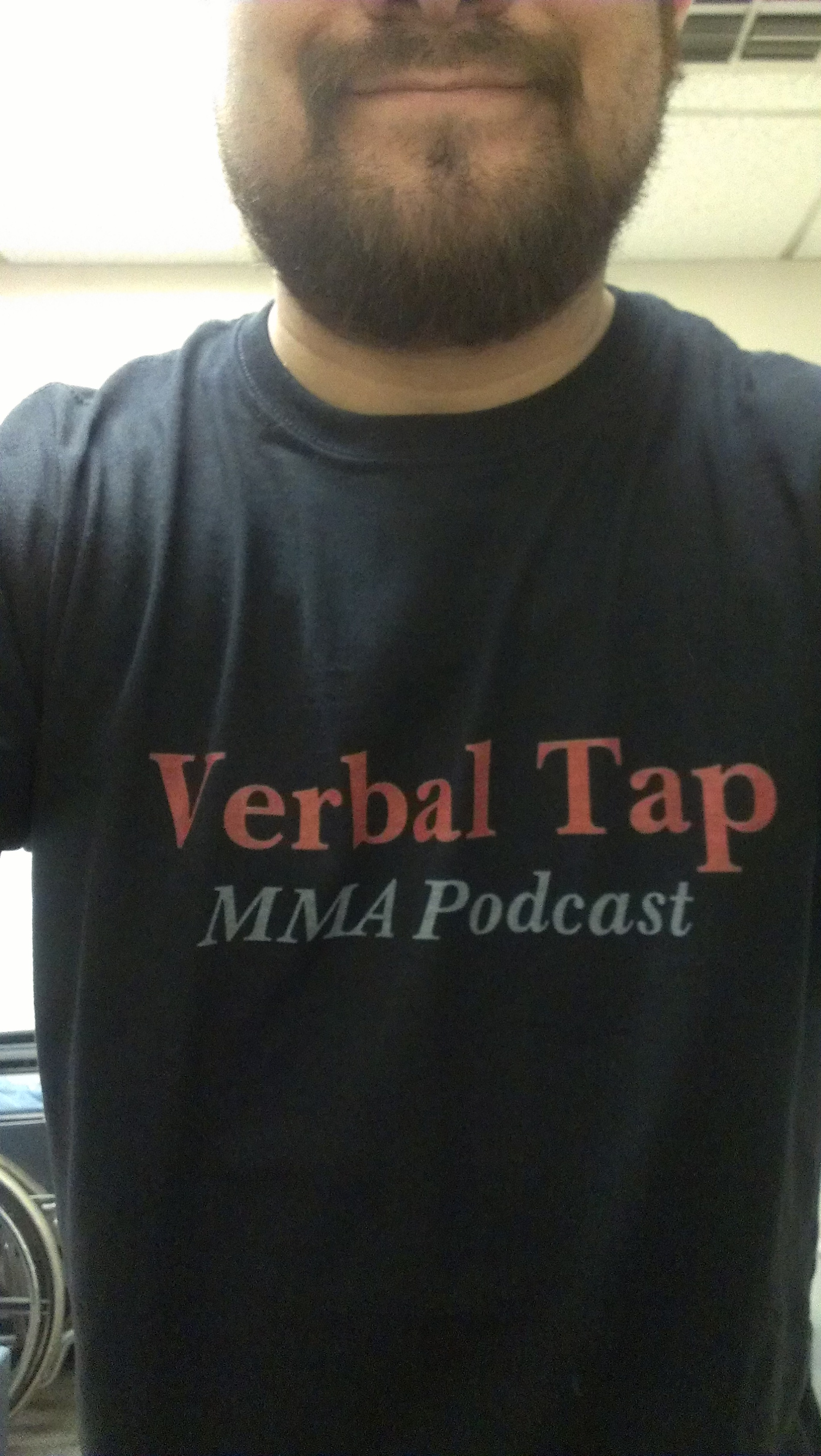 Raf, his beard, and his Verbal Tap T Shirt. What more could anyone need?