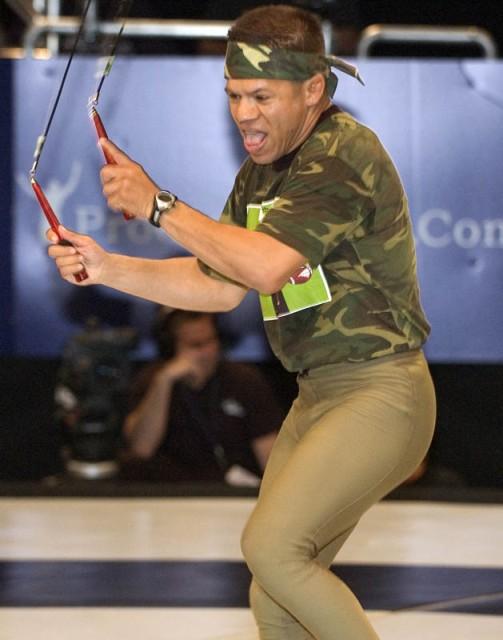 The man, the myth, the jump roper!