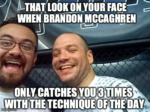 Me and Brandon Meme