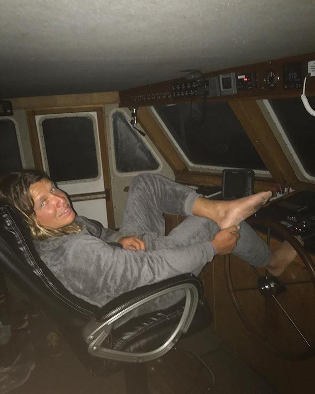 Yes I love u @skye_dane 😊My Captain in his onesie.