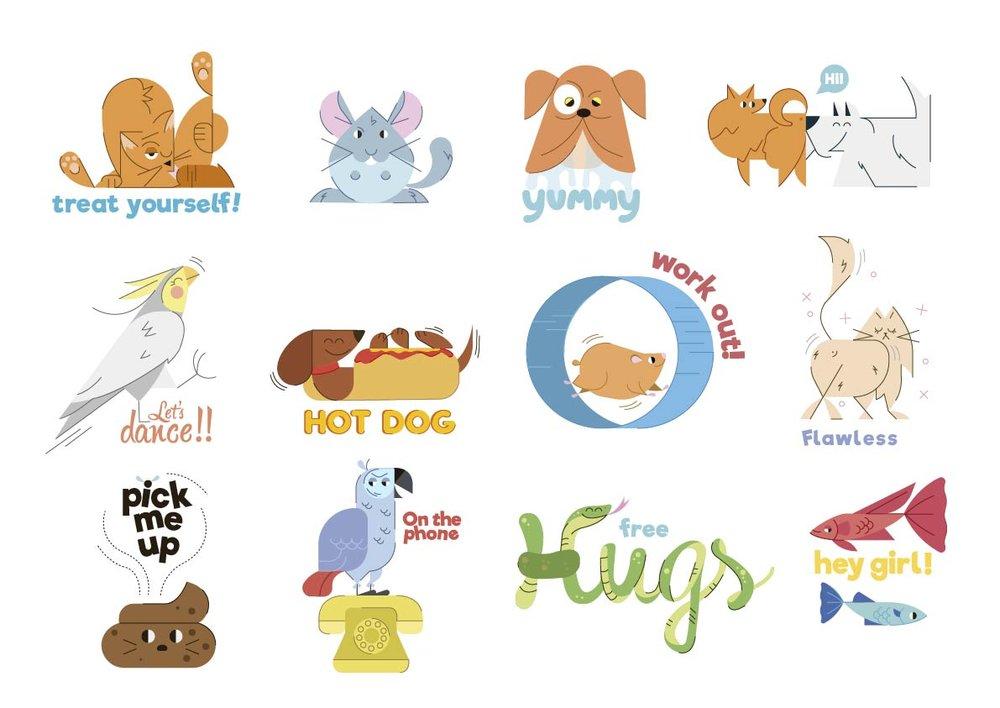 stickers,jaimehayde,pet,illustration,cat,dog.jpg
