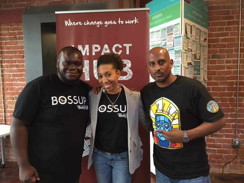 @BossUpHipHop and Technology Tech 808 Conference in Oakland with one of the founders and a fierce Hip Hop Artist with a flare for both performing arts and tech.