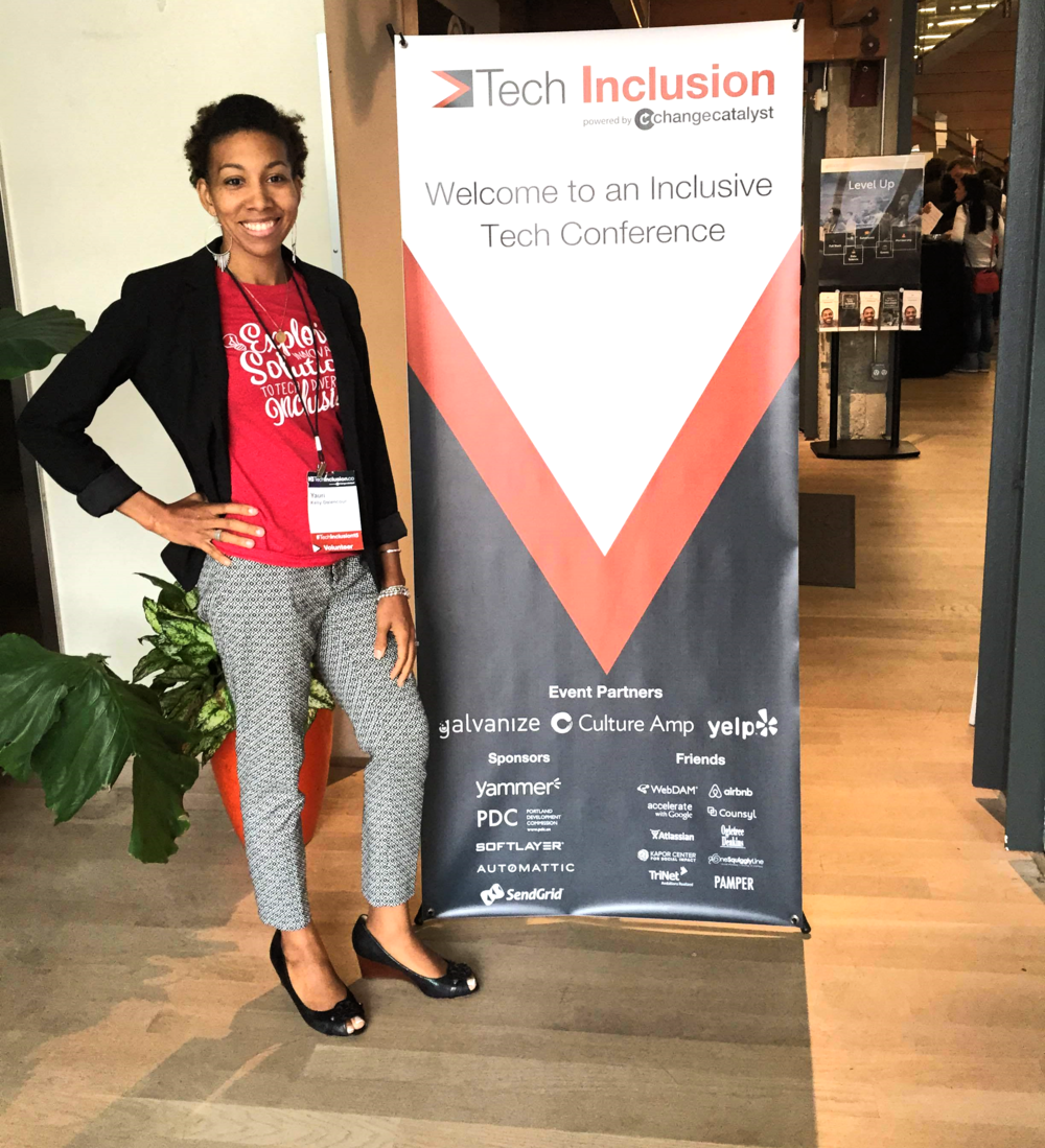 Me @TechInclusion2015 in San Francisco