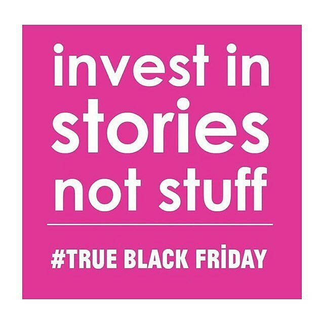 "There is something powerful about brands with purpose. Brands that know and tell the story behind the product. Brands that care about the hands that create them. Just something to think about this ""Black Friday"". @ecoage @thedolectures @davidhieatt"