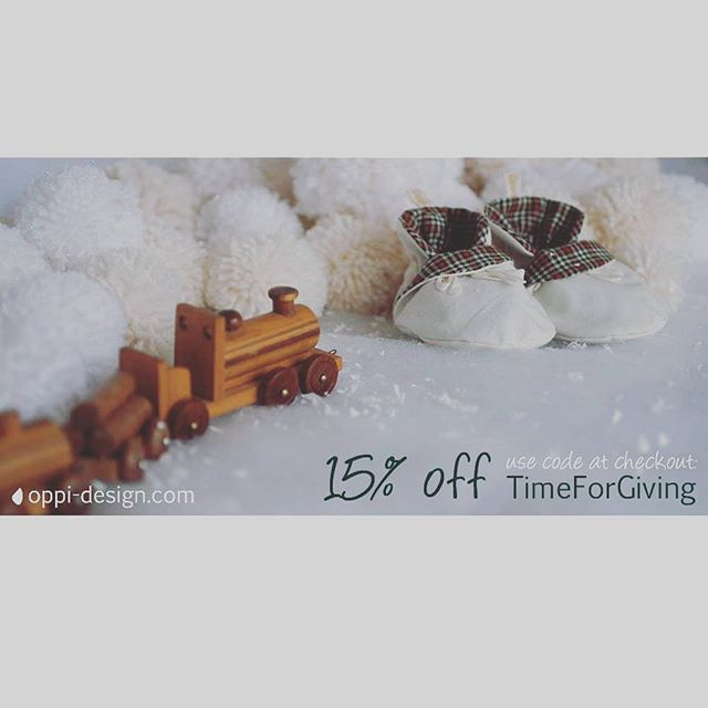 A little Christmas treat before last postage! Get 15% off online for those final gifts for your little ones! #timeforgiving