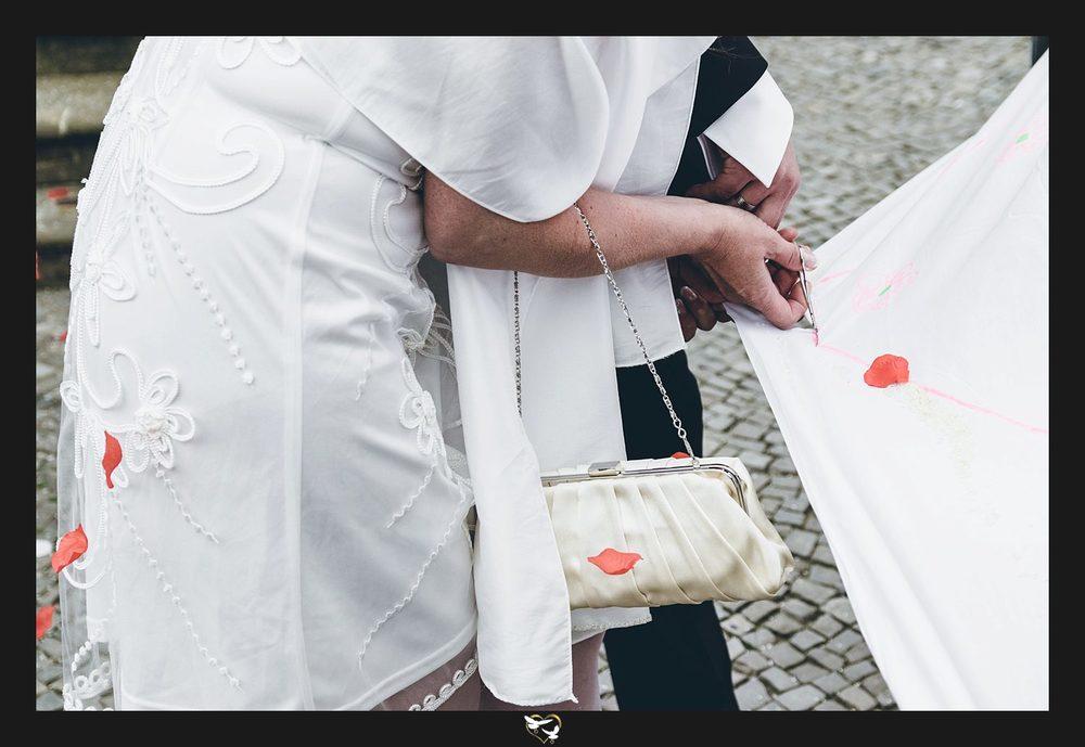 Hochzeitsfotografie mit schönem Stil
