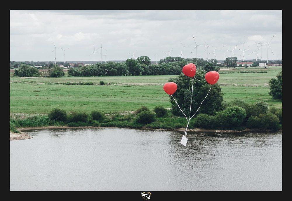Hochzeits-Luftballons
