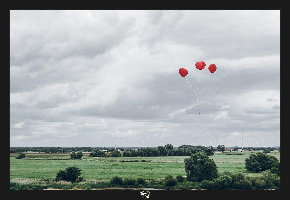 Ballons über Tangermünde