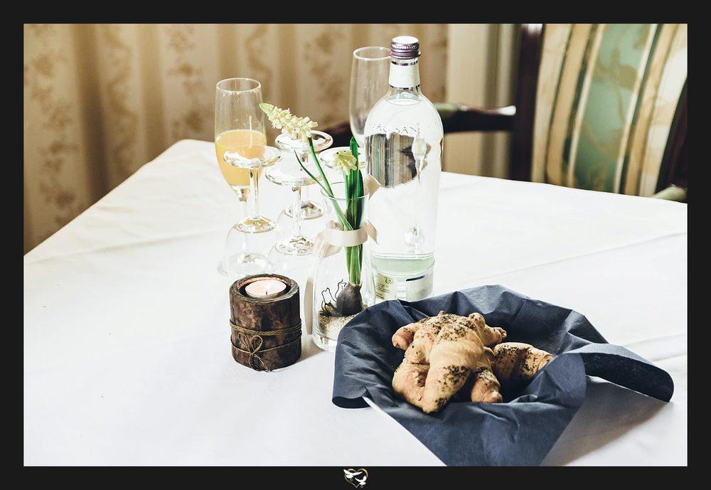 Tisch in der Lounge