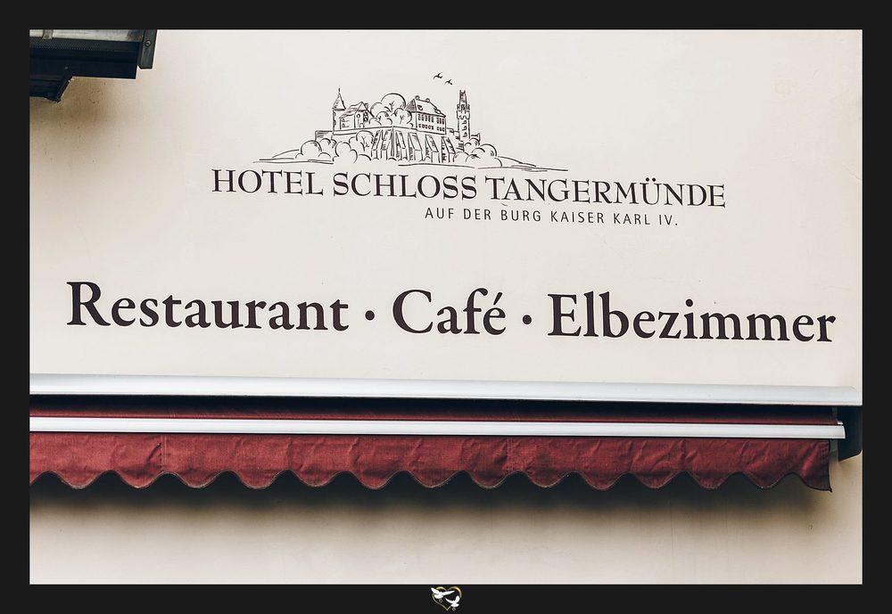Eingang Restaurant Elbezimmer