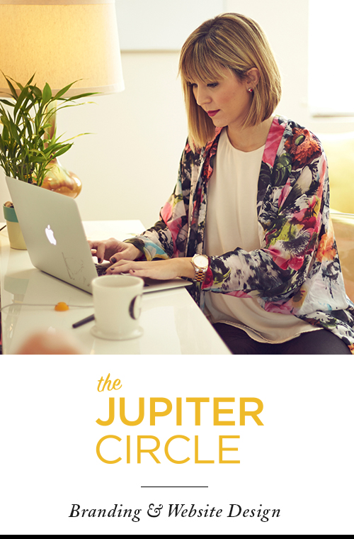The Jupiter Circle - Brand Identity & Website Design