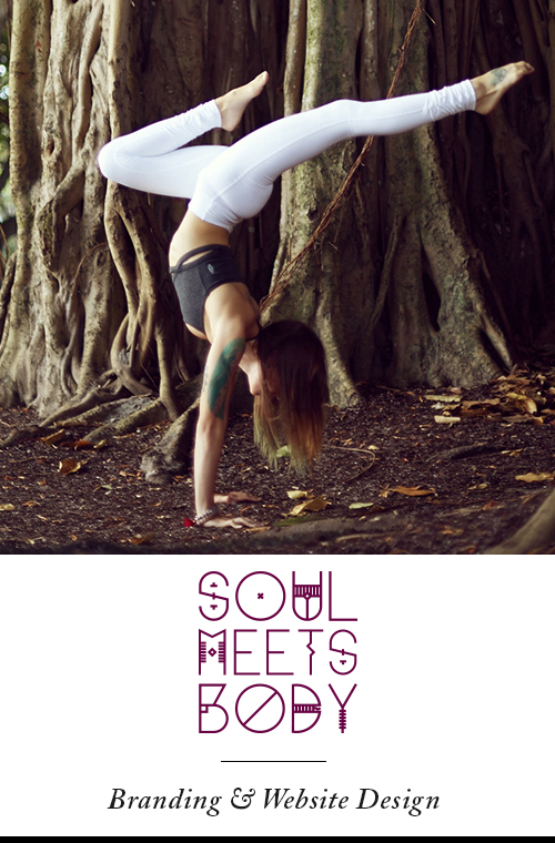 Soul Meets Body - Brand Identity & Website Design