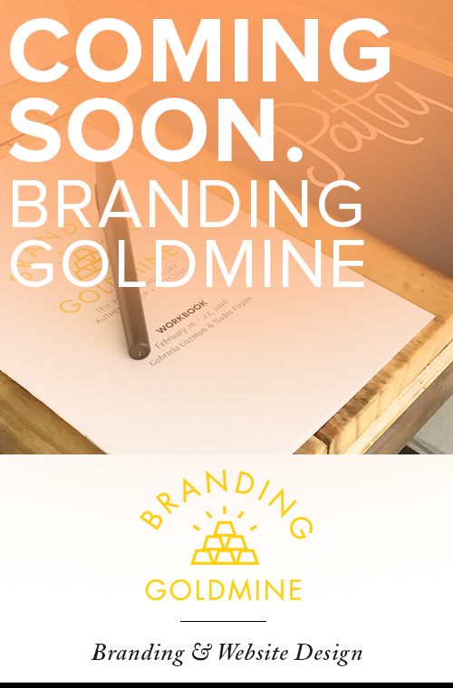Branding Goldmine - Brand Identity and Website Design (page under construction)