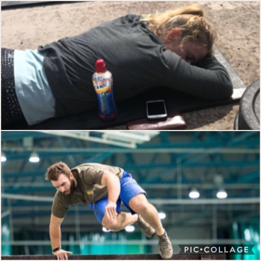 We can see who was integral to the team...resting prior to events rather than finding a wall to jump over clearly is a far better idea!