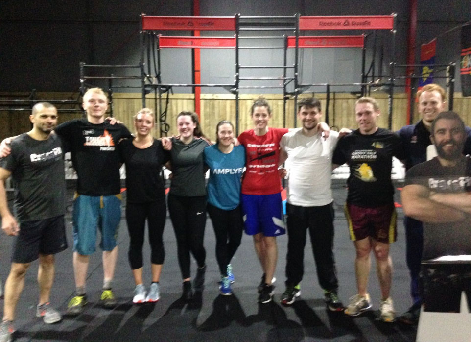 KB Swing — WOD — Reebok CrossFit Cardiff