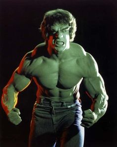 The Hulk used to scare the crap out of me when I was a kid!