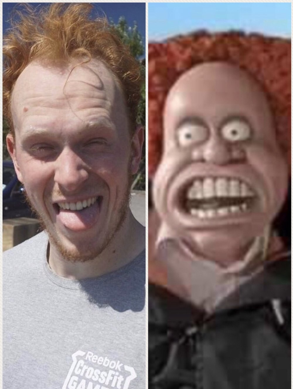 The resemblance is uncanny!