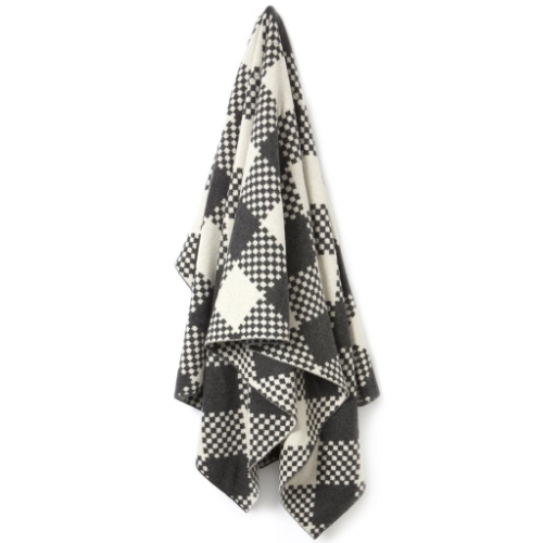 Meyen Blanket in charcoal, Woolworths, R1099