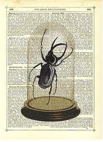 Newspaper Print Art Dome