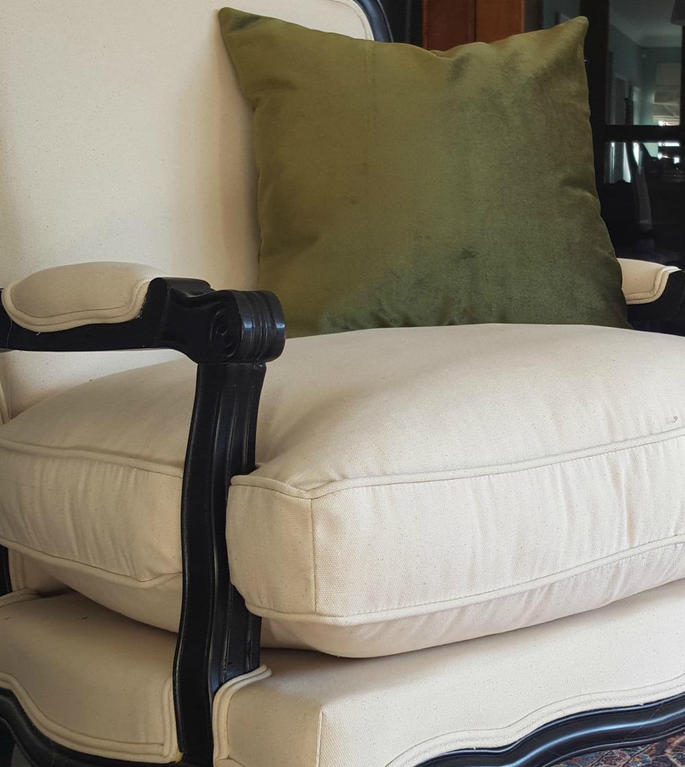 Green Velvet Scatter Cushion For Sale.jpg