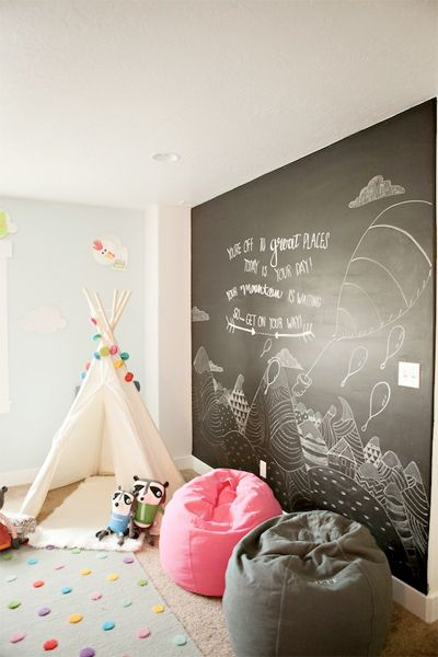 Pink, Blue, Grey and Neutral Baby Room. Camp Themed
