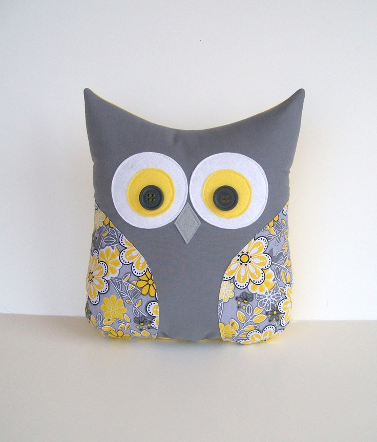 Grey and Yellow Own for Baby Room