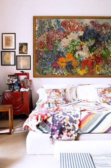 rhiannonsinteriors.com large impressionsit painting cover wall.jpg