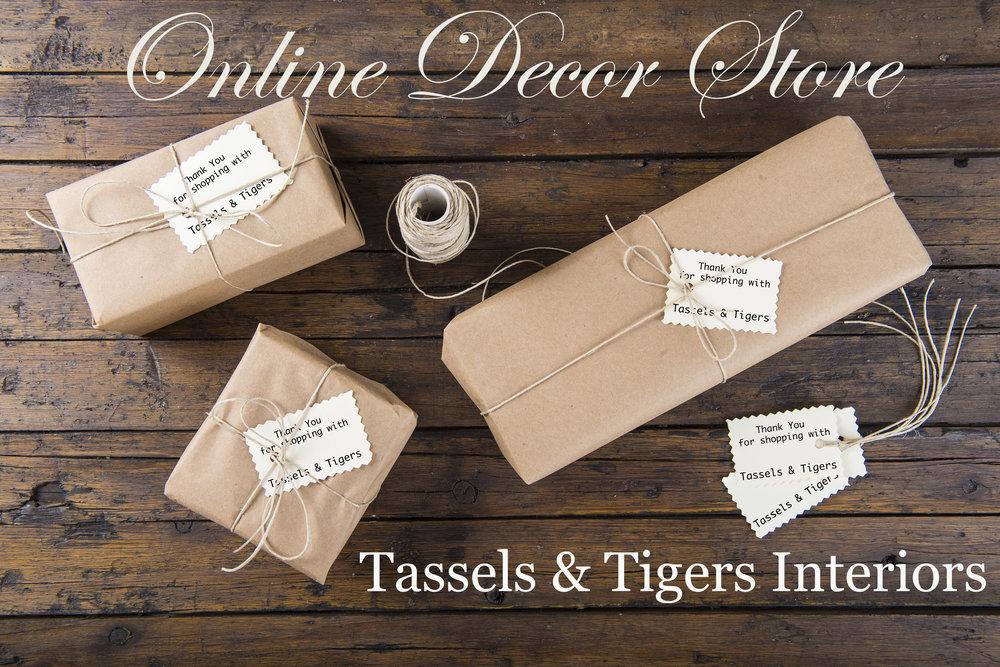 Tassels & Tigers Online Decor Shop - Relic Hunters and Decorators