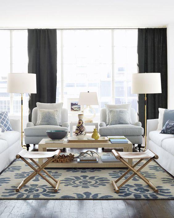 Typical Interior Decorator Lounge Setting