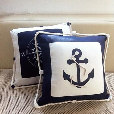 40-40cm-Embroidery-Navy-blue-Sea-anchor-Canvas-Compass-Lobster-Pillow-Cushion-font-b-Nautical-b.jpg