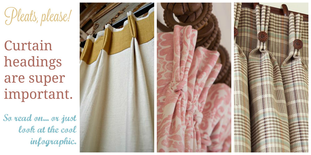 Why curtain headings are important to interior decorators