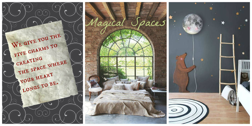 Magical Spaces and the five things you need to create them, by Tassels & Tigers Interiors