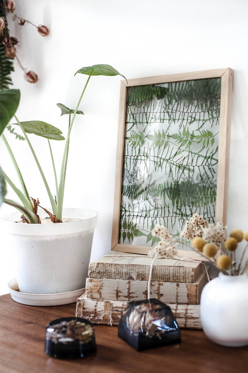 Pressed Botanical Art: Nature\'s Answer to Greenery. Foraged ...