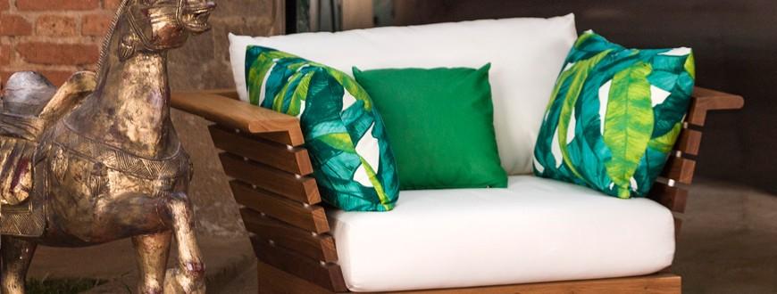 UG Fabrics Caribbean Couture Outdoor Fabrics. Tassels & Tigers Interiors Blog