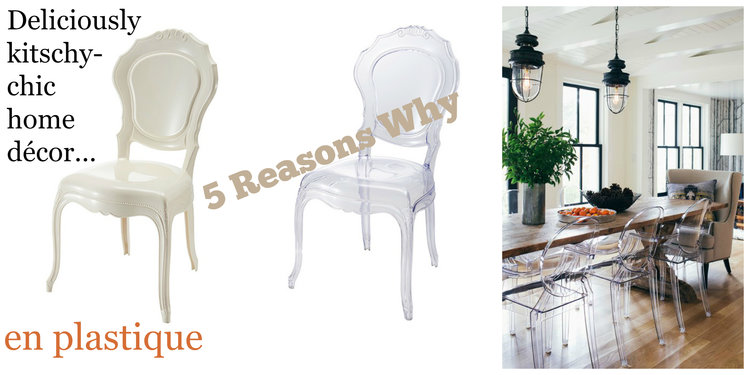 5 Reasons Why Plastic Dining Room Chairs Are Chick As Explained By An Interior Decorator