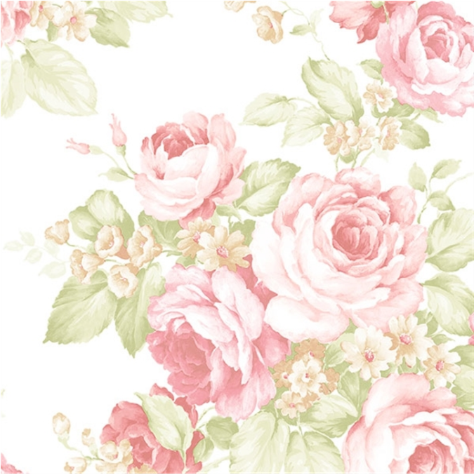 faded pink and green roses floral wallpaper.png