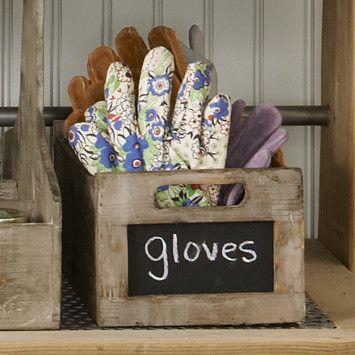 Gardening gloves for potting sheds