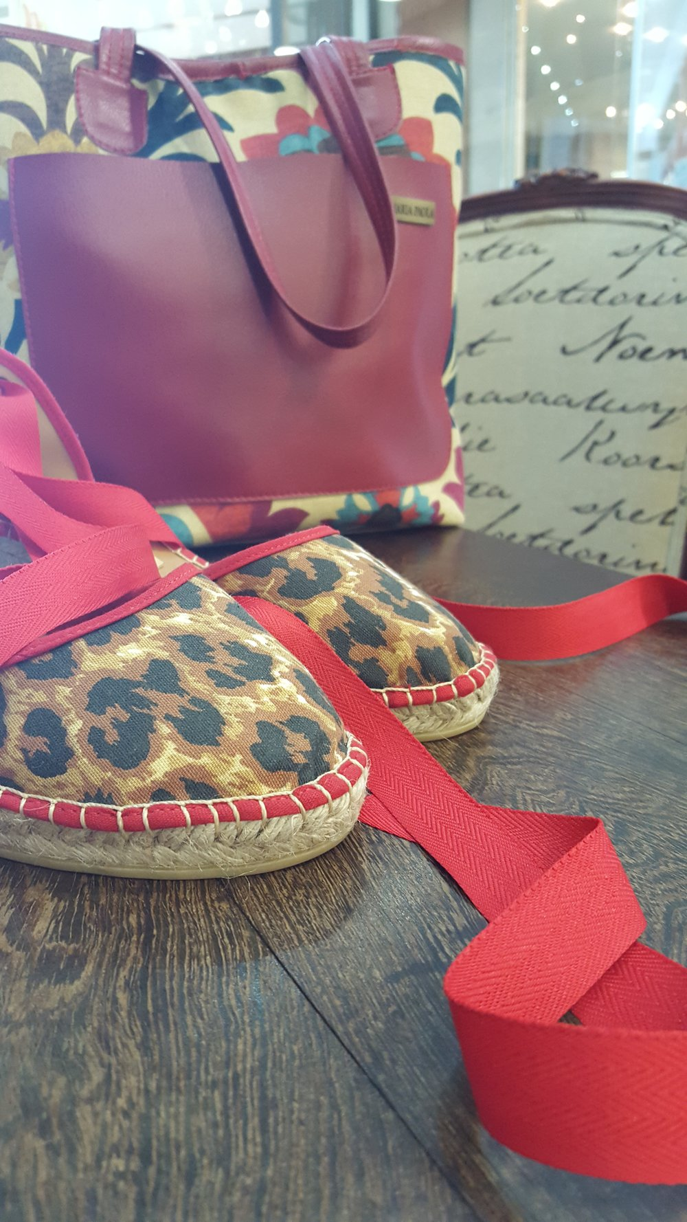 Leopard Print and Red Lace Ups and Handbag_Maria Paola.jpg