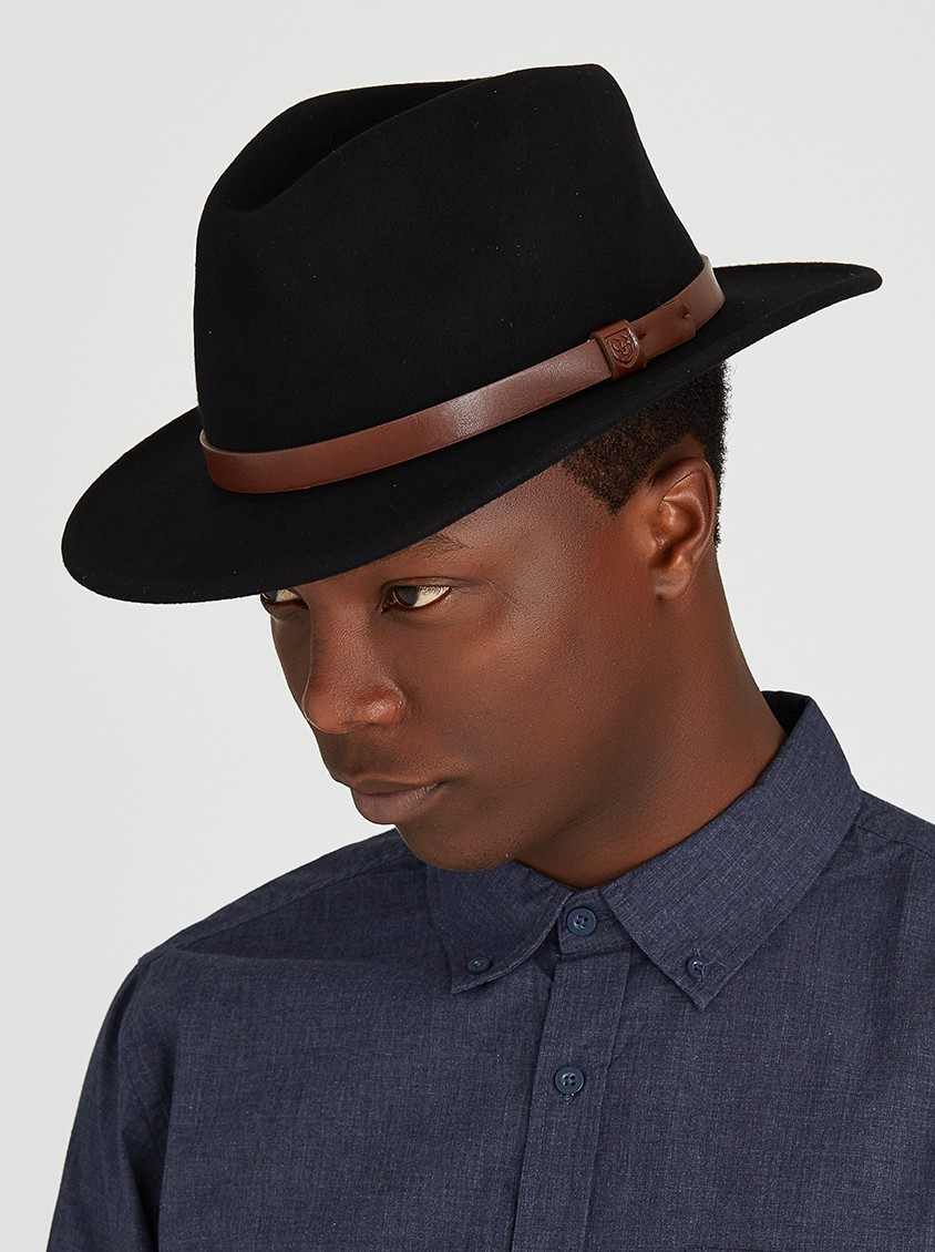 Messer Fedora in Black from Spree - R699.