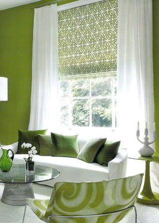 white sheers over green blind.jpg