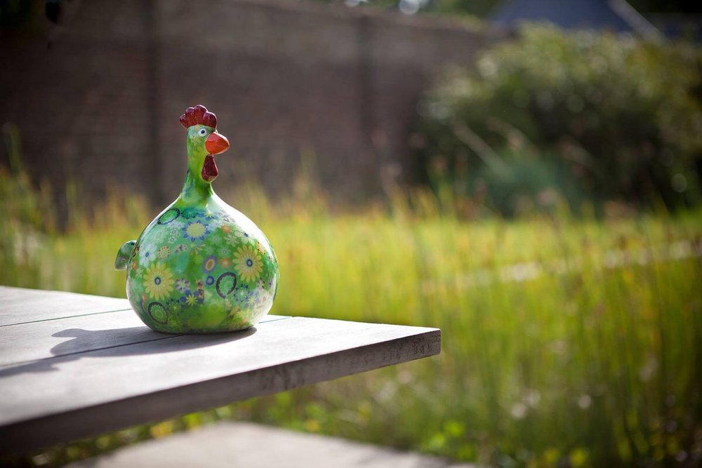 Buy a ceramic Pomme-Pidou chicken money box in SA