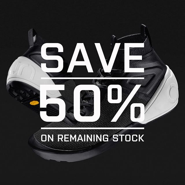 We are offering the remaining stock of the FR-01 at 50% off its original RRP. That's €110 ( or £97 ) limited sizes only left. Don't miss out! . #onlywhatsnecessary #fr01 #50%off #mtb #mountainbiking #footwear #freeride #enduromtb #downhillmountainbiking #sale