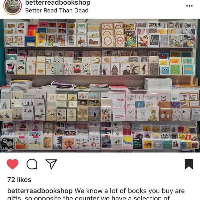 So happy to be amongst some amazing fellow artists @betterreadbookshop