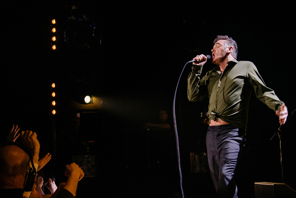 Morrissey Live at Sheffield City Hall