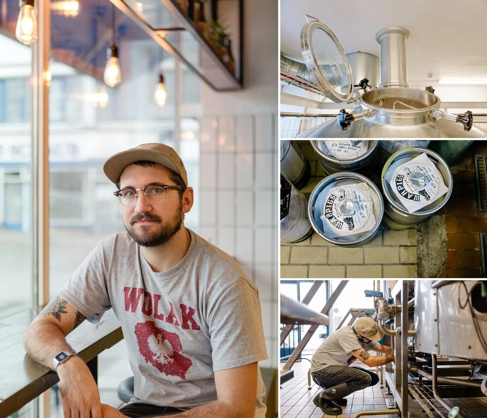Kyle Wolak, Warpigs head brewer