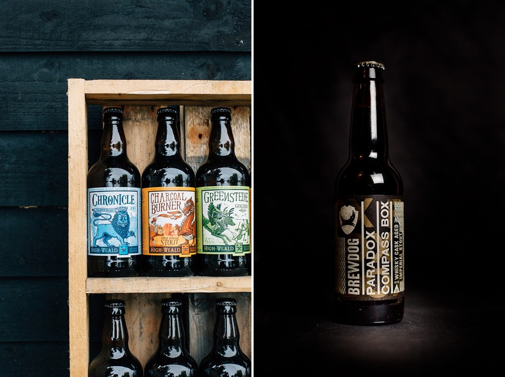 High Weald Brewery & Brewdog Paradox Compass Box